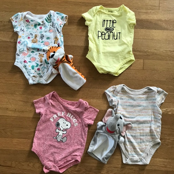 First Impressions Other - Bundle 4 pc. Infant Onesies
